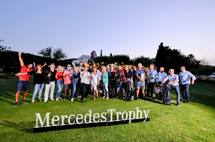 Record participation in the II Tournament Terrenauto of the Mercedes Trophy Circuit in Golf Ibiza