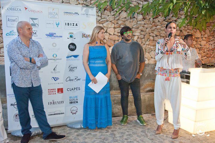 Wally López y Mireia Canalda en Golf Ibiza