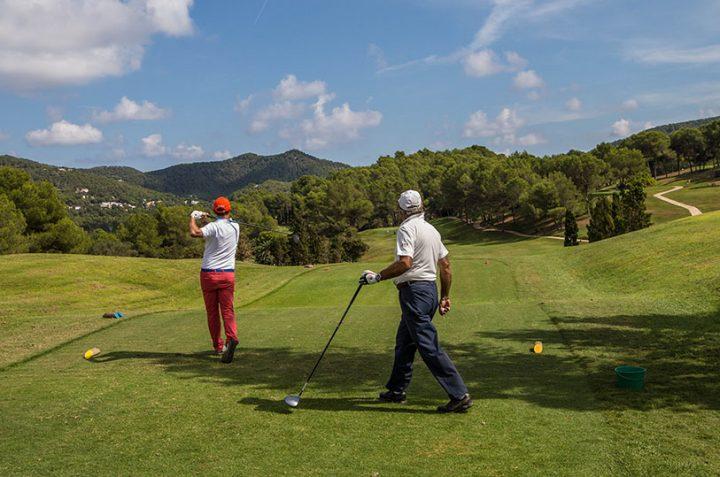 Golf Greensome modality