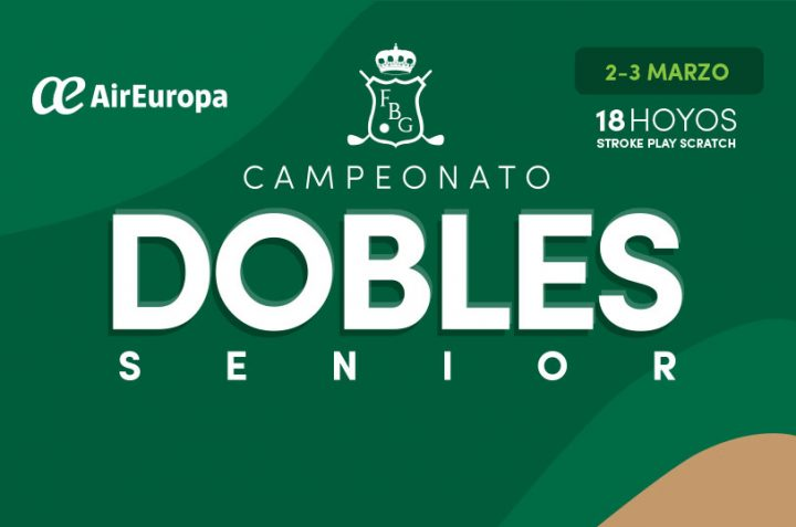 Convocatoria al Torneo Baleares Dobles Senior – Air Europa