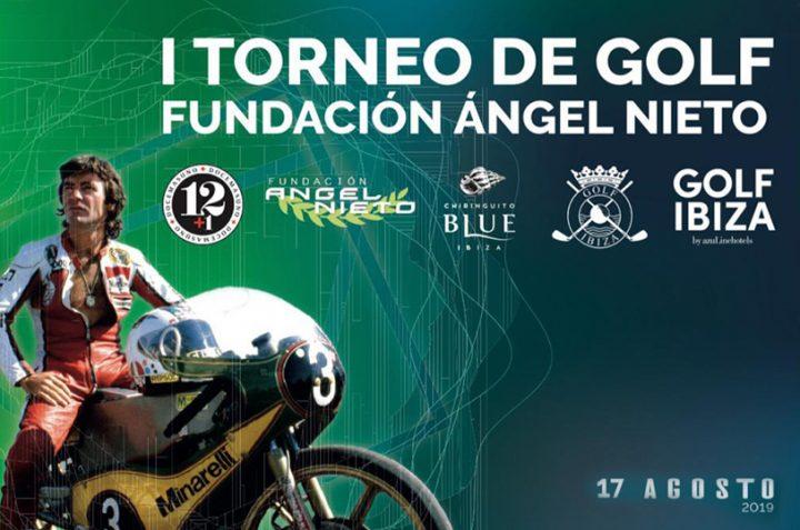 Presentación I Torneo Fundación Ángel Nieto en Golf Ibiza
